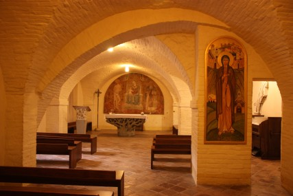 The Crypt in St Francis' Basillica where his remains are interred