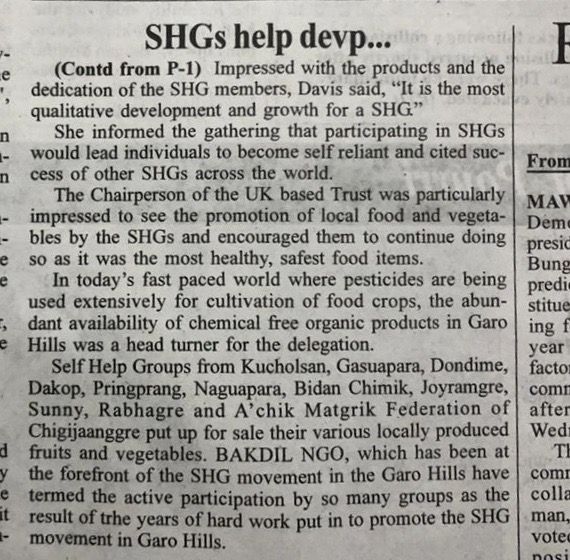 Garo Hills News Saturday 23rd November 2019